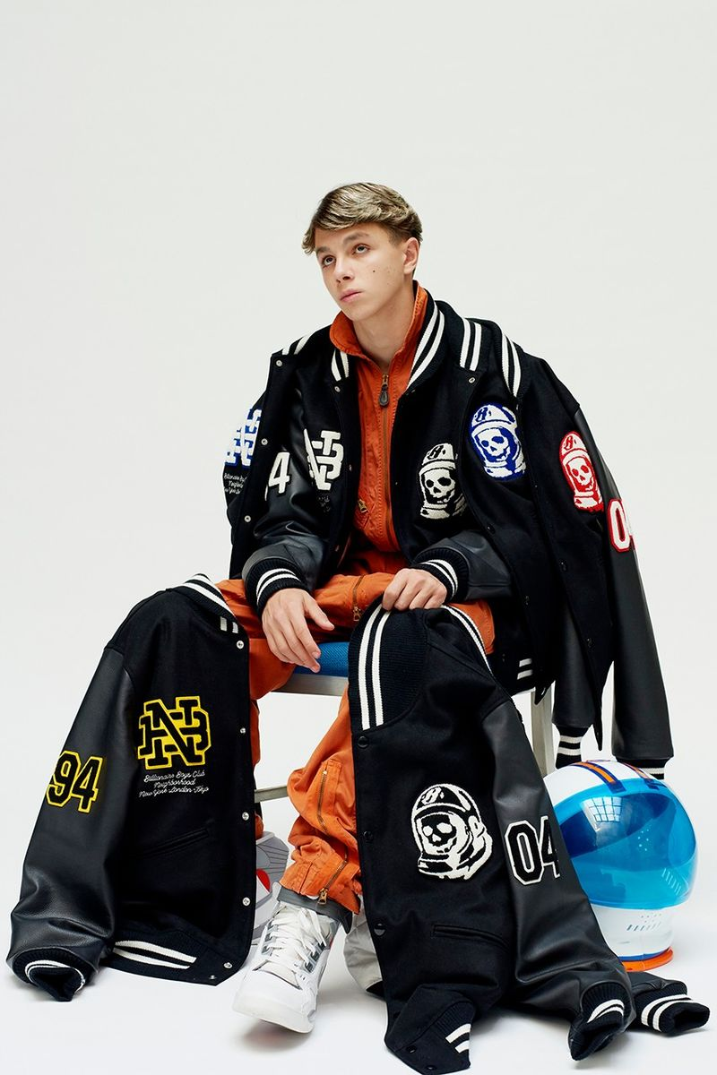 Branding-Heavy Varsity Streetwear