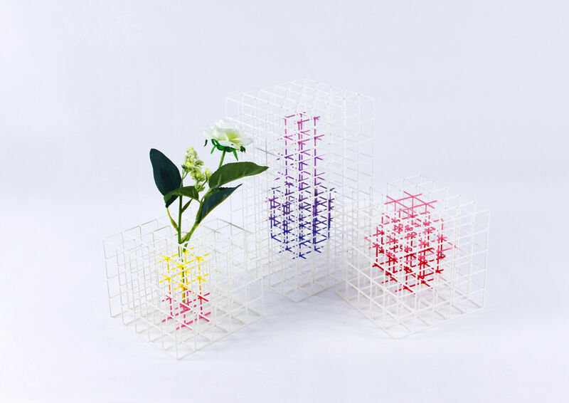 Geometric Three-Dimensional Vases