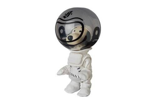 Cartoon Astronaut Dog Figurines