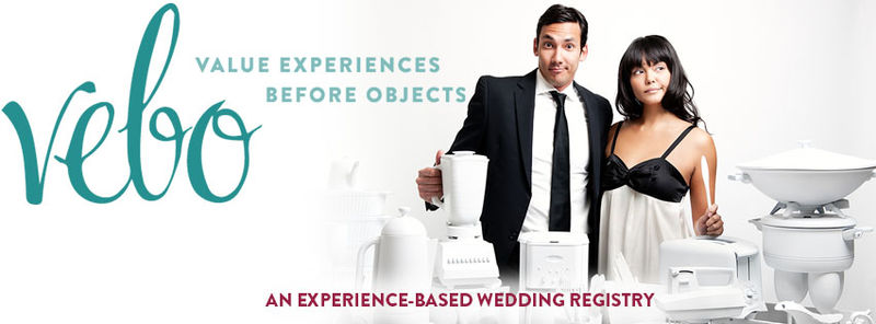 Experience-Based Wedding Registries