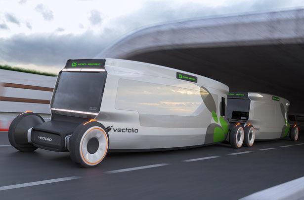 Autonomous Urban Transportation Buses