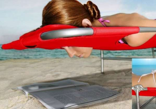 Facially Freeing Cutout Loungers