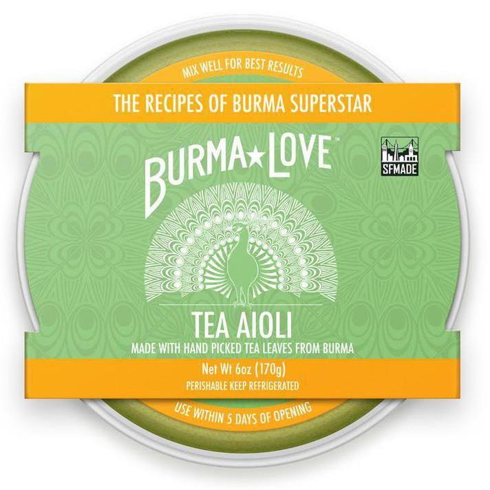 Tea-Infused Aioli Condiments