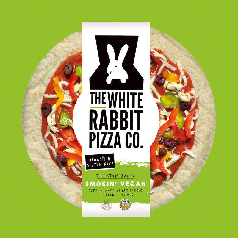 Smoky Vegan Pizzas