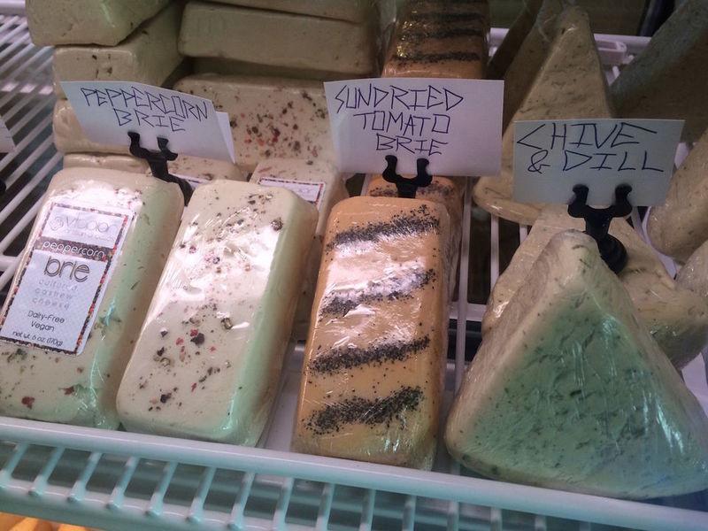 Vegan Cheese Shops