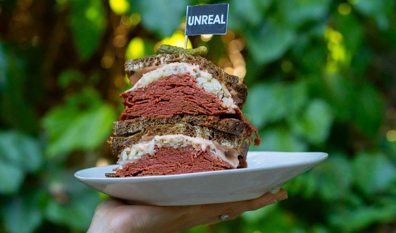 Vegan Corned Beef Sandwiches