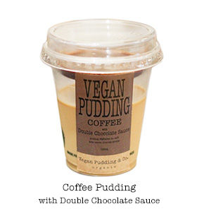 Vegan Custard Puddings