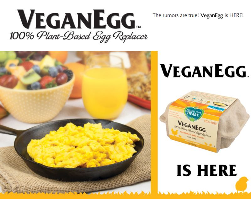 Plant-Based Egg Alternatives
