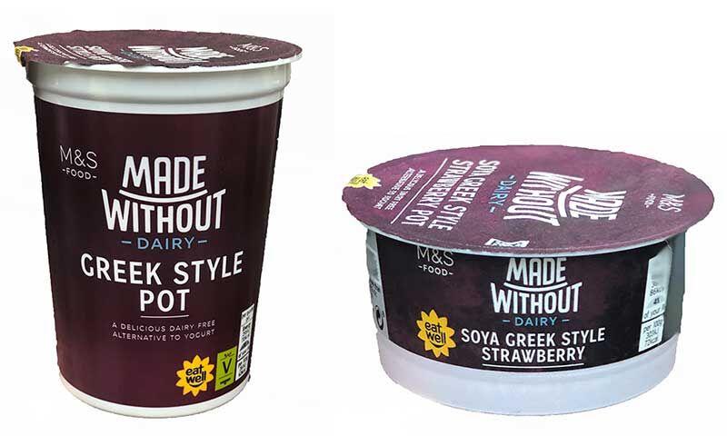 Vegan Greek Yogurts