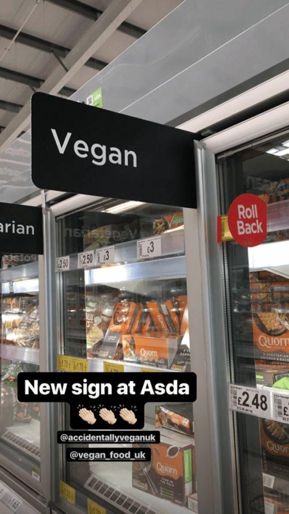 Dedicated Vegan Grocery Aisles