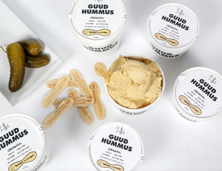 Small-Batch Vegan Hummus Spreads