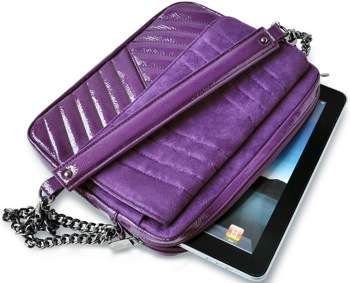 Luxurious Vegan iPad Bags