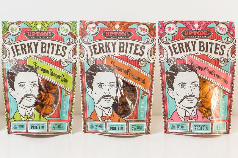 Vibrant Vegan Jerky Snacks