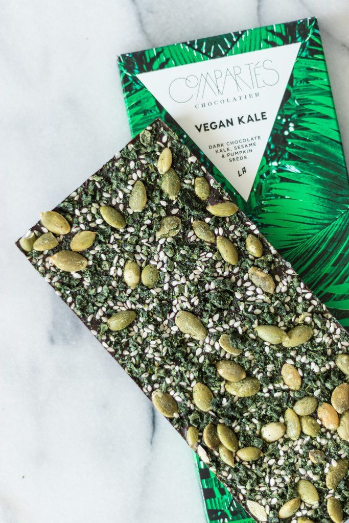 Kale-Infused Chocolates