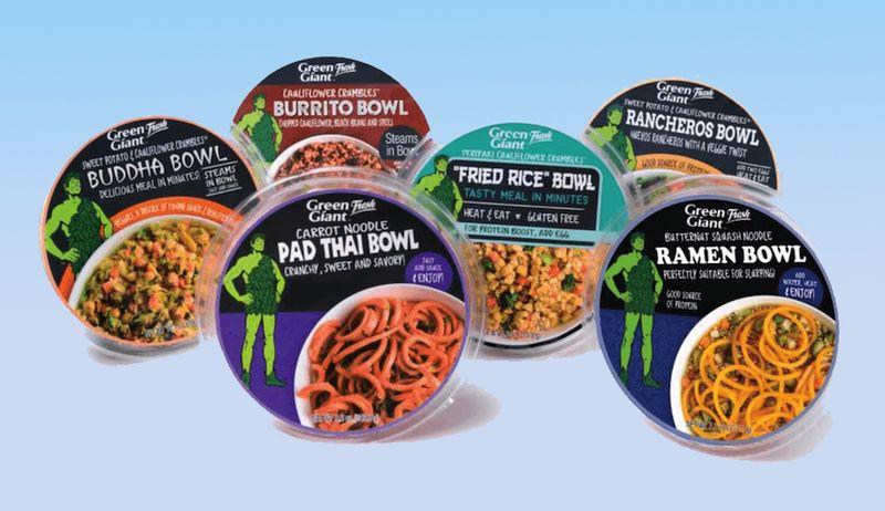 Microwaveable Vegan Bowls