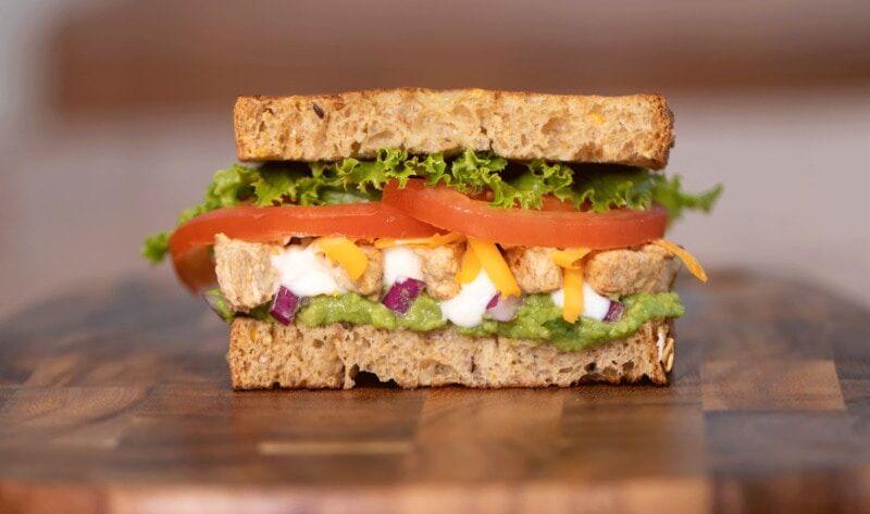 Meatless Vegan Sandwiches