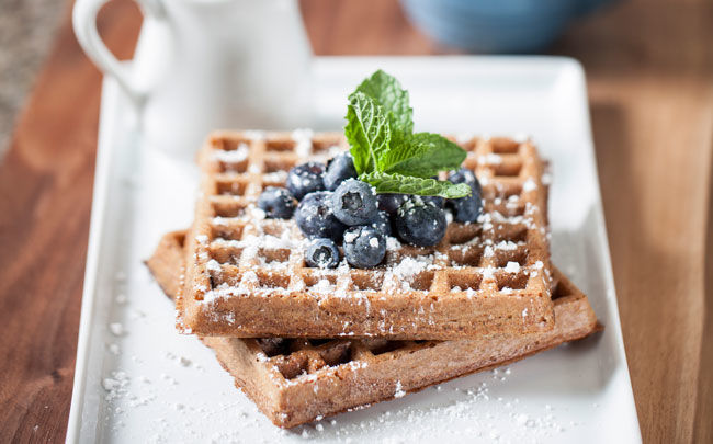 Sprouted Superfood Waffles