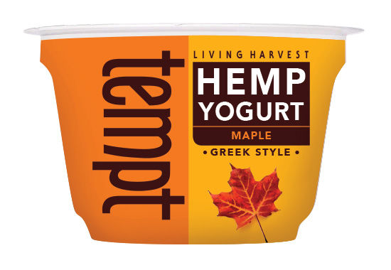 Flavored Hemp Yogurts