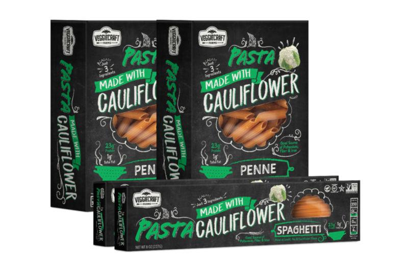 Cauliflower-Based Pastas