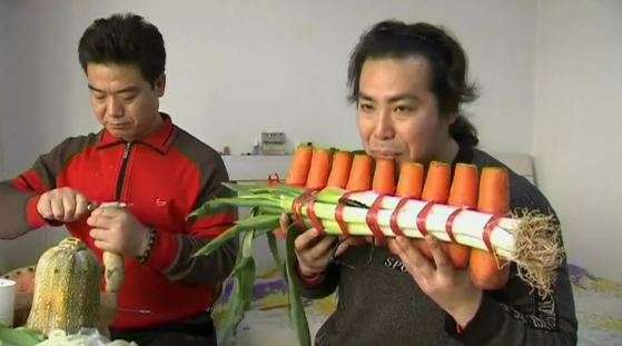 Vegetable Orchestra Instruments