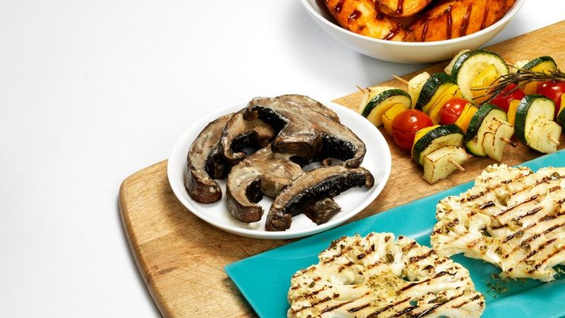 Grilled Vegetable Steaks