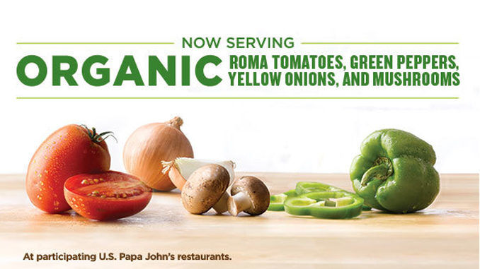 Organic Pizza Topping Promotions