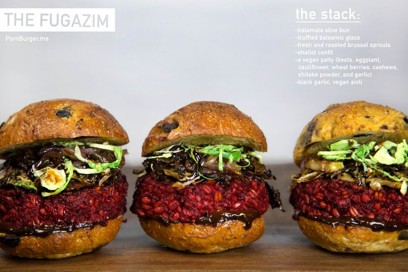 Vegan Berry Burgers