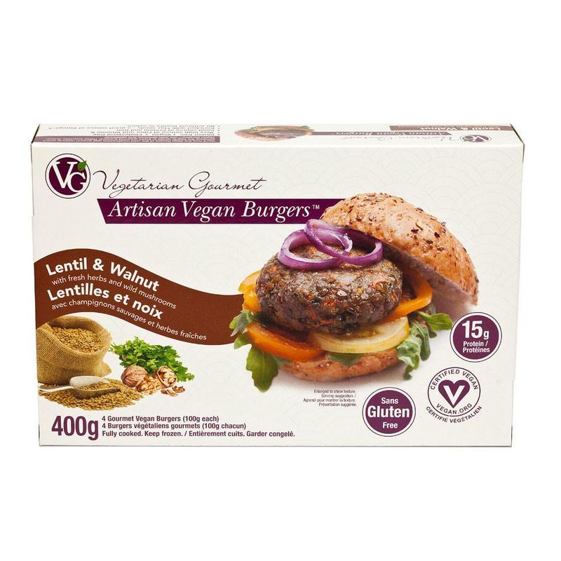 Plant Protein Burger Patties