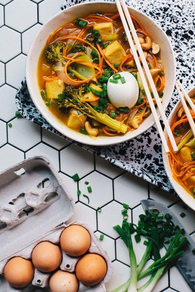 Carrot-Based Noodle Bowls