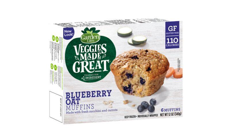 Veggie-Packed Frozen Muffins