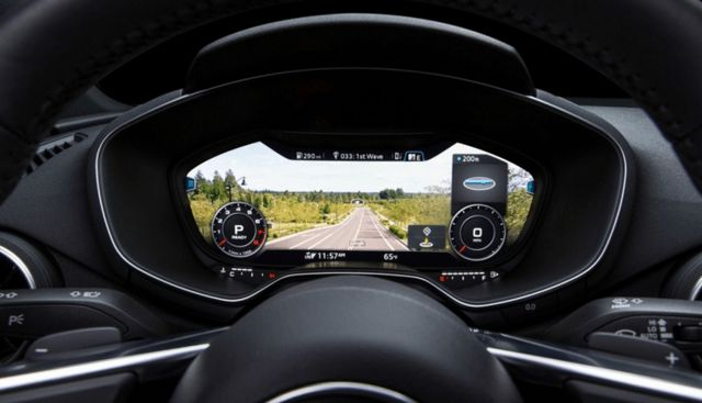 Virtual Vehicle Dashboards