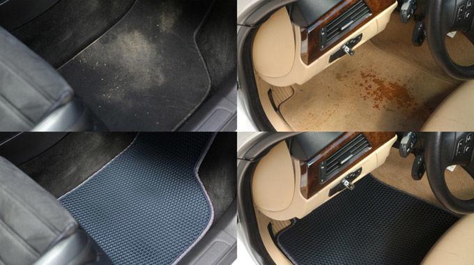 Dirt-Trapping Car Mats