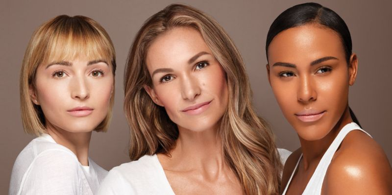 Authentic Real-Women Cosmetics Ads