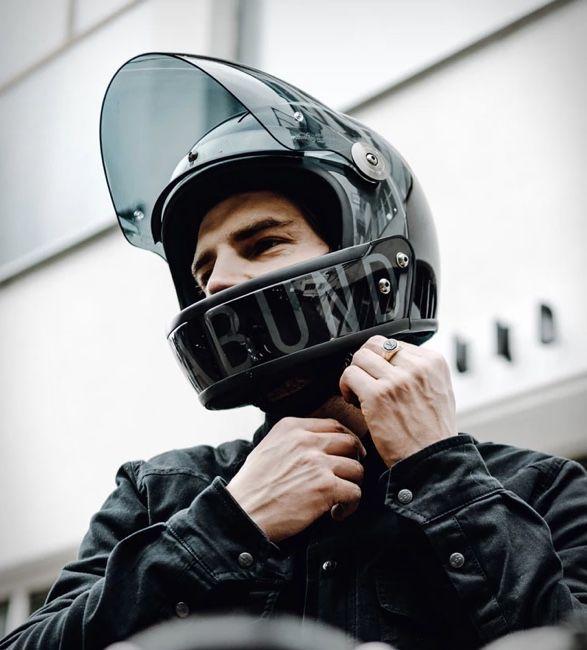 Convertible Carbon Fiber Helmets