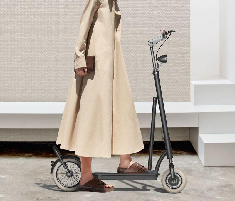 Modernized Foldable Bike Scooters