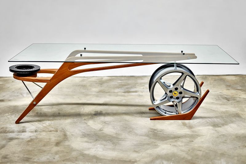 Super Car-Inspired Tables