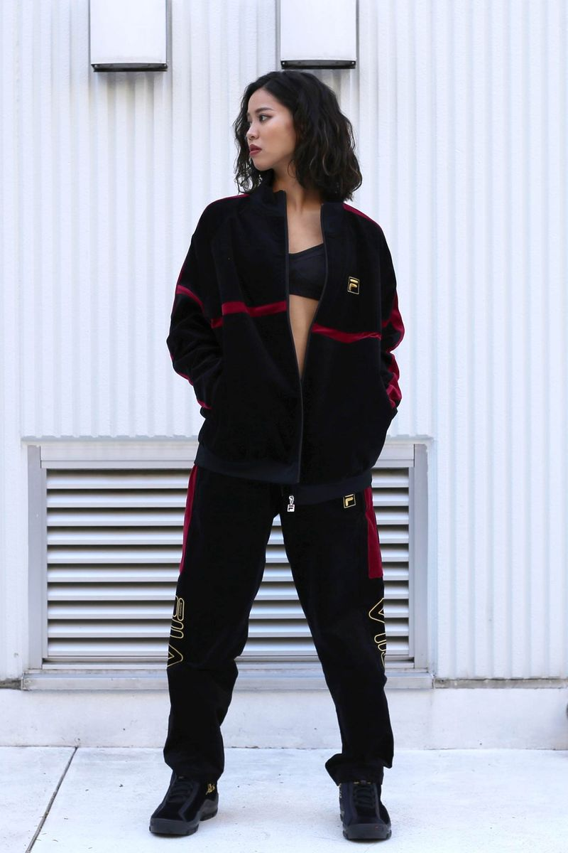Velour Track Suits