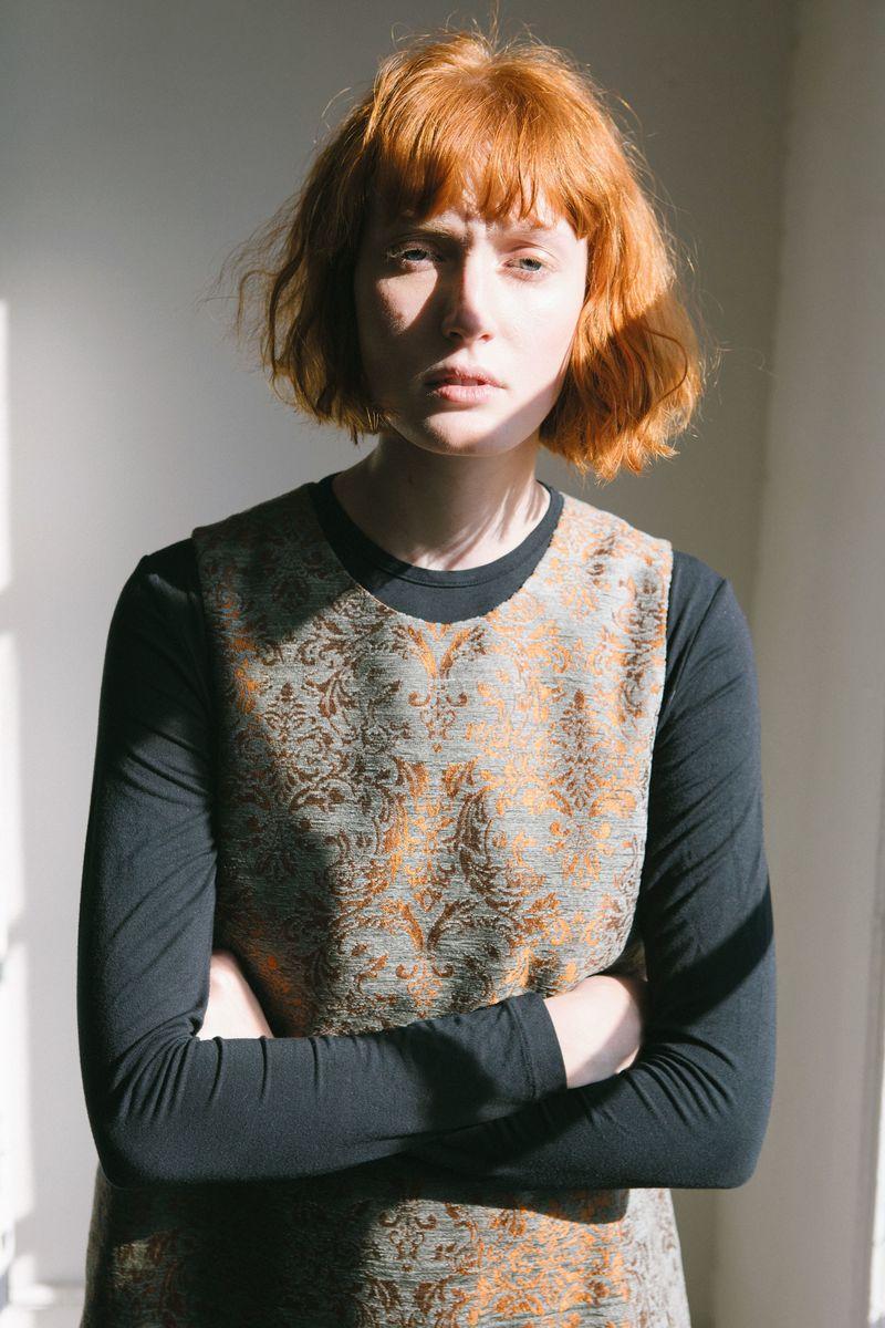 Arty Velvet Fashion Silhouettes