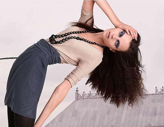 Back-Bending Fashion Spreads
