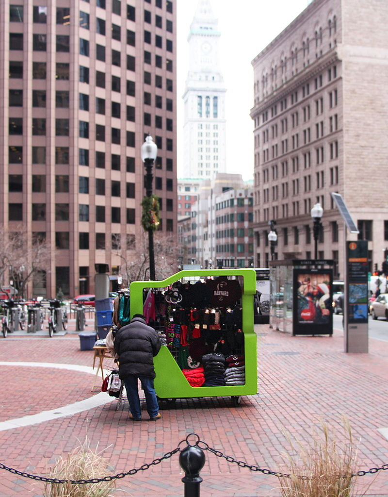 Mobile Retail Vending Carts