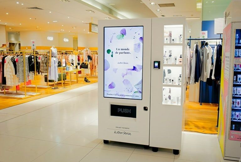 Interactive Retail Vending Machines