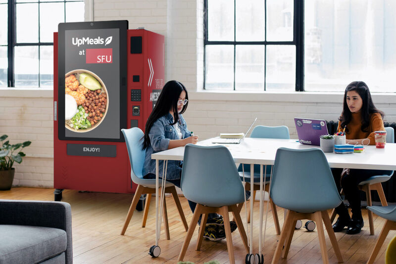 Student Meal Vending Machines