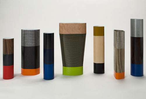 Contemporary Textured Vases