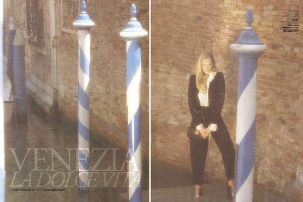 Retro Italian Romance Shoots