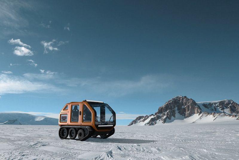 Icy Exploration Vehicles