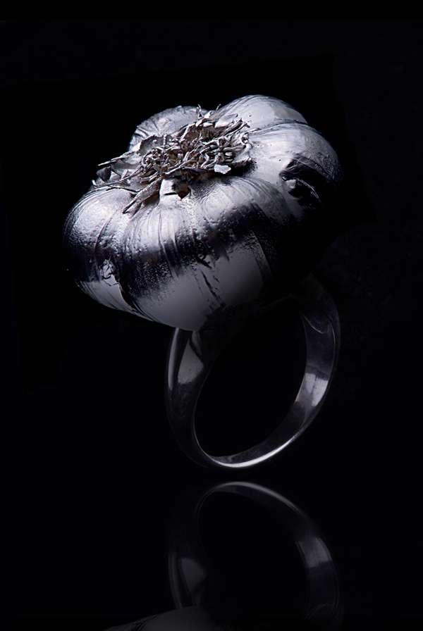 Elegant Vegetable Jewelry