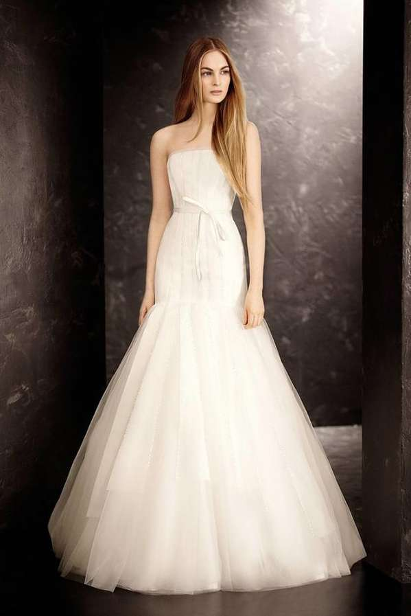 Softly simple wedding dresses vera wang bridal aw13 for Best vera wang wedding dresses
