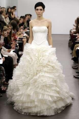 Ornate princess bridal gowns vera wang bridal for Vera wang princess wedding dress