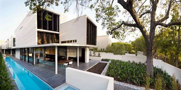 Modern Geometric Homes Verdant Avenue House By Robert