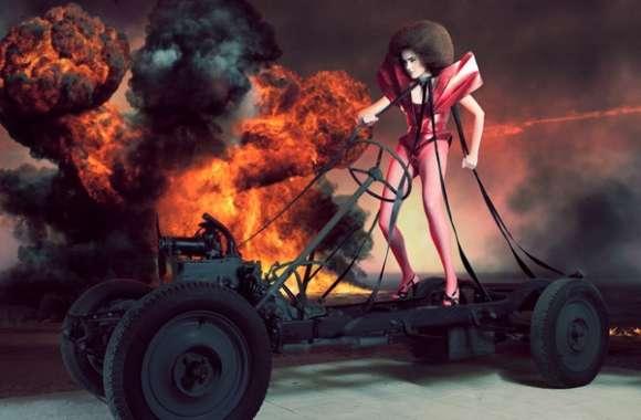 Apocalyptic Sci-Fi Fashion